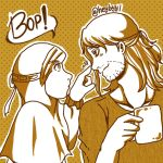 Poking Nose by nabyyl