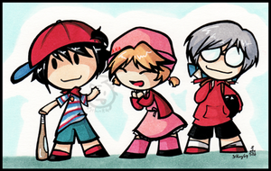Mother1 peeps by SelanPike