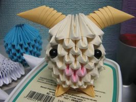 Poro League of Legends 3DO by Melsaran