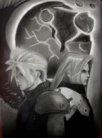 makin ofMy  own Final Fantasy 7 Poster by PolishPsycho