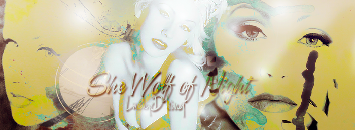 She Wolf of Night Portada Ft. Christina Aguilera by dayemo