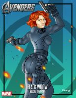 BLACK WIDOW!!!! by Madvox