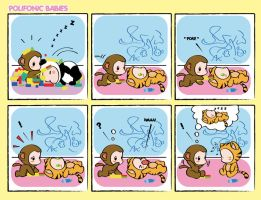 Comicstrip Polifonic Babies 7 by momo81