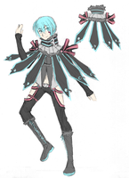 Synchronicity Mikuo sketch concept by mersan-sama