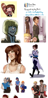 a bunch of shingekies part 2 by HypnoticHyena