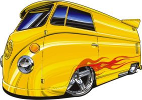 VW drag bus by Bmart333