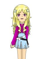 Monsuno OC: Katrina Bailey by artycomicfangirl