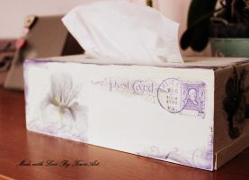Vintage Tissue box by KaoriArt