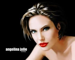 Angelina Jolie - Goddess by fuzzys