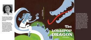 The Lollipop Dragon -bookcover by dbkit