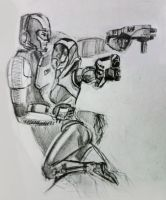 Tali x Shepard (55) by spaceMAXmarine