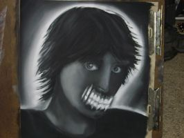 AP Art: Charcoal Portrait 1 by Jesus-Fishboy