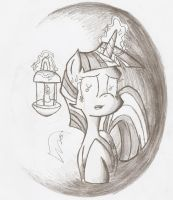 Don't Be Afraid of Twilight, Miss Sparkle by Smoking-mist