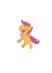 Scootaloo Vector by firefox877