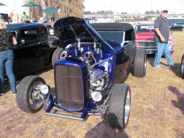 32' blue Ford Roadster B by Eagle07