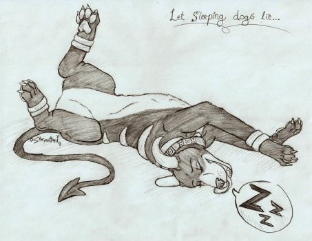 Let the Sleeping Dogs Lie by Starmuttani