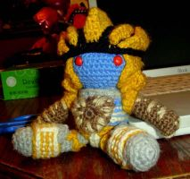 Transformers Crochet:  Dinobot by ToniPendragon