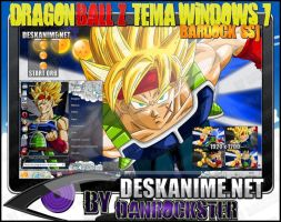 Bardock SSJ Theme Windows 7 by Danrockster