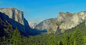 Yosemite Valley by artamusica
