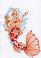 Laura the koi-mermaid by My-Anne