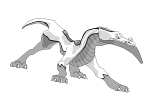 Angry Dragon D-Racer Template by HyvePL