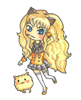 Chibi SeeU by BlueShining