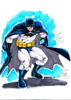 Batman commission to Saeed by danielhdr