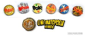 onomatopoeia rings by Dinuguan