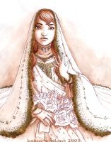 Bride by kafine