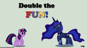 Double the FUN by Toxic-Mario