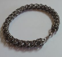 Stainless steel CIR bracelet by MermaidsTreasury
