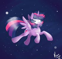 Twilight In Space by Kunomasu