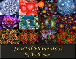 Fractal Elements II Calendar by wolfepaw