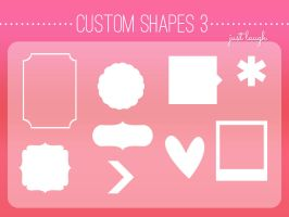 Custom Shapes Pack 3 - JustLaugh143 by JustLaugh143