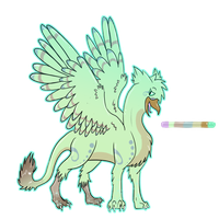 Gryphon/griffon whatever design by speqqy