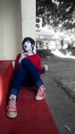 Cosplay Marshall Lee 6 by DiogoSCabral