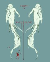 blood upon the seafoam by MacGregor