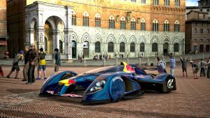 REDBULL X1 in the plazza by whendt