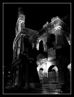 Colosseum BW by SurfGuy3