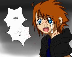 Sora -- 'Just run' by Filly777