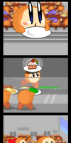 Day as a waddle dee 2 - color by pikmin789