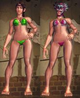 SFxT Mod - Julia: Bikini by Segadordelinks