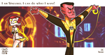 I am Sinestro, I can do what I want. by Chizu-PS