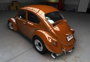 VolksWagen 'Bug' by pierre-allard