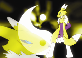 renamon wallpaper by Elsdrake