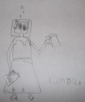 Ciderella Drawing by PoliticalPip