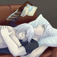 Reading Time by Jass-Leen