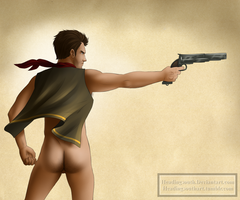 Commission: Booker Dewitt ass by headingsouth