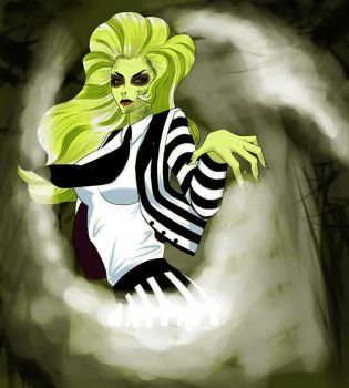 beetlejuice she by magicalpie