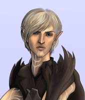 Fenris Close Up by SargeCrys